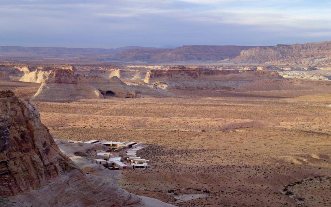 Amangiri, een oase van rust midden in de woestijn