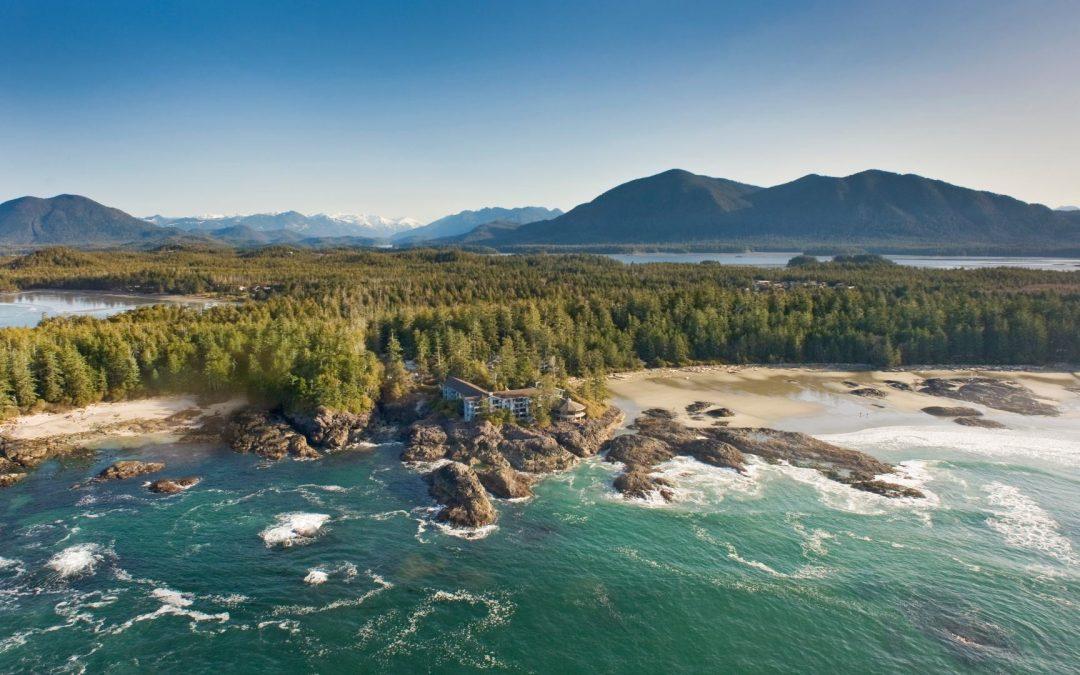 Wickaninnisch Inn, 240 graden zicht op de Stille Oceaan